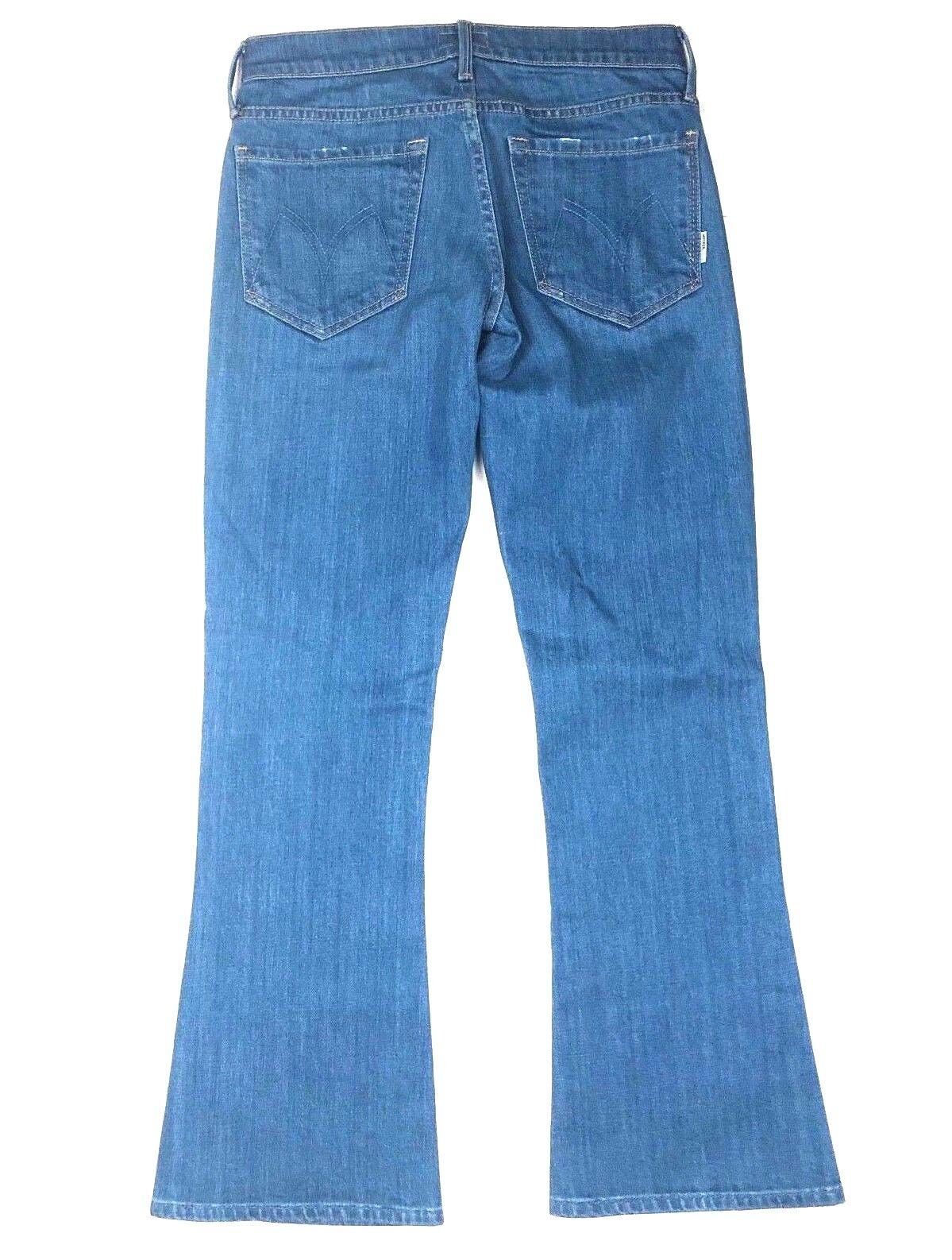 MOTHER Denim Bootcut Flare Crop Capri Ankle 1 2 Women's Jean Pants