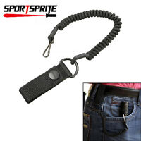 Tactical Military Paracord Strap Cord Flashlight Lanyard Safety Rope Key Ring