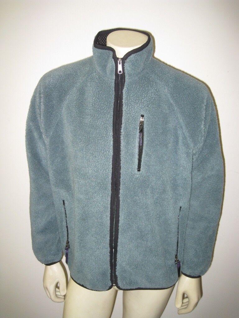 Vintage 1997 Patagonia RETRO CARDIGAN Grün Pile Fleece USA MADE Größe LARGE