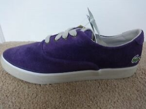 a5bb4e2b22c4 Lacoste Sport Imatra CI shoes trainers purple suede uk 8 eu 42 us 9 ...