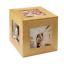 Bamboo Photo CubeKeepsake BoxUnique Photo FramePhotograph Box M/&W