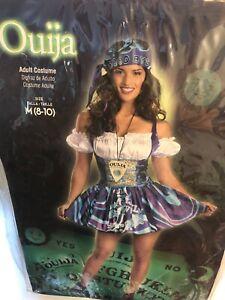 Fortune Teller Costume Adult Gypsy Ouija Board Halloween Fancy Dress