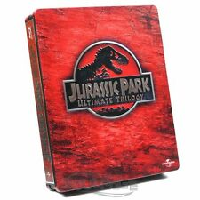 Jurassic Park - Ultimate Trilogy [Steelbook] [Blu-ray] NEU / sealed