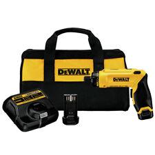 DEWALT 8V Li-Ion Gyroscopic Screwdriver Kit DCF680N2 New