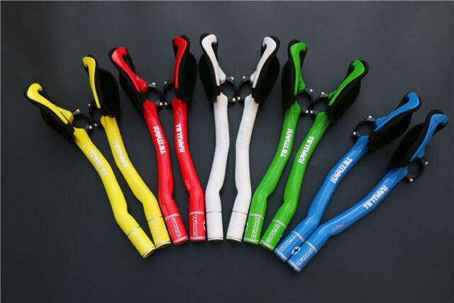 Carbon MTB Road Bike TT Time Trial Triathlon Aero Bar Aerobar Extensions 31.8mm