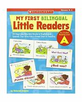 My First Bilingual Little Readers: Level A: 25 Reproducible Min... Free Shipping