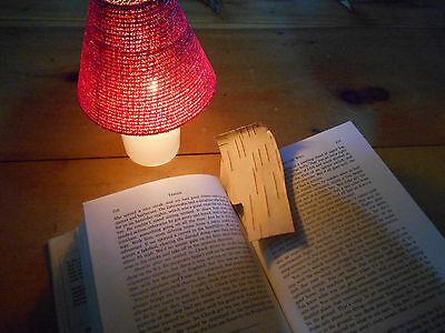 Natural birch bark bookmark