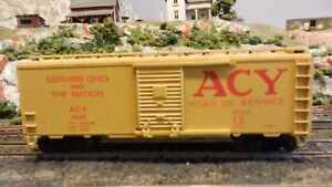 Athearn-BB-40-039-Boxcar-Akron-Canton-amp-Youngstown-Upgraded-Exc