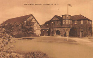 The-Pingry-School-Elizabeth-New-Jersey-Early-Postcard-Unused