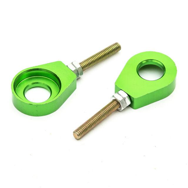 Pitbike Verde di CNC 15mm Tendicatena Regolatore 50cc 110cc 125cc 140cc