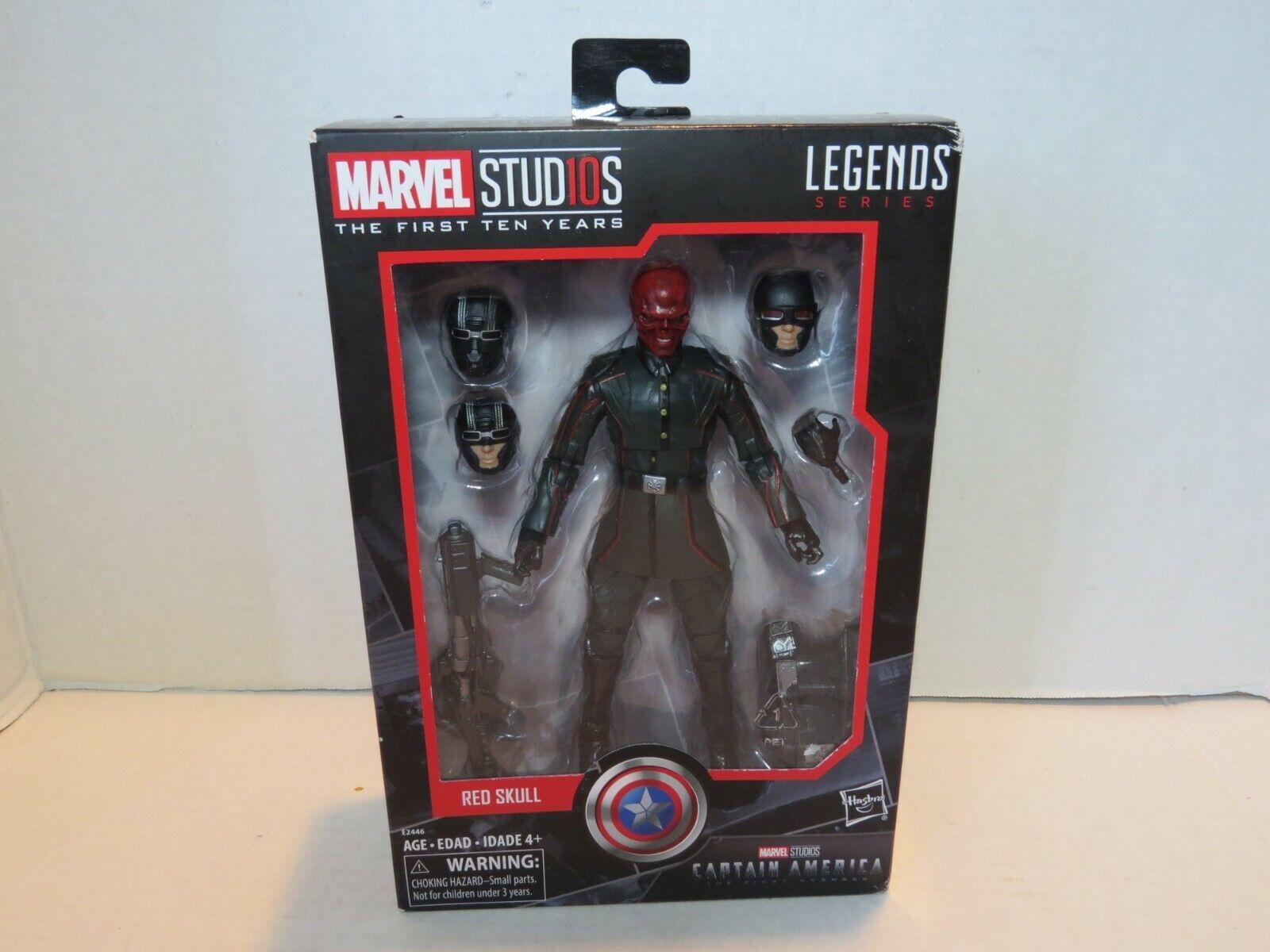 E2446 Hasbro Marvel Studios The First Ten Years Legends Series Red Skull
