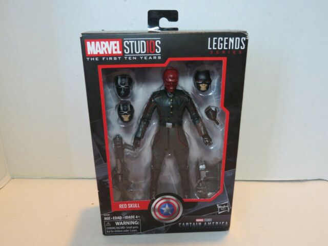 E2446 Hasbro Marvel Studios The First Ten Years Legends Series Red Skull