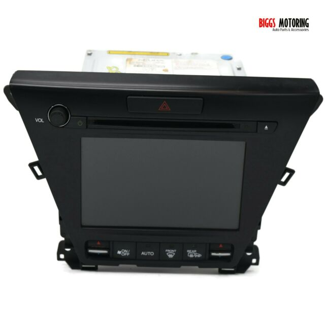 2015-2016 Acura MDX Navigation Radio Touch Display Screen