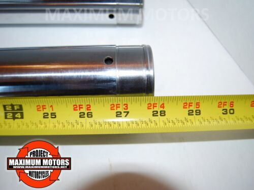 FRONT FORK TUBES 49 MM HARLEY DYNA WIDE GLIDE FXDWG 2006 UP REPLACE 46617-06