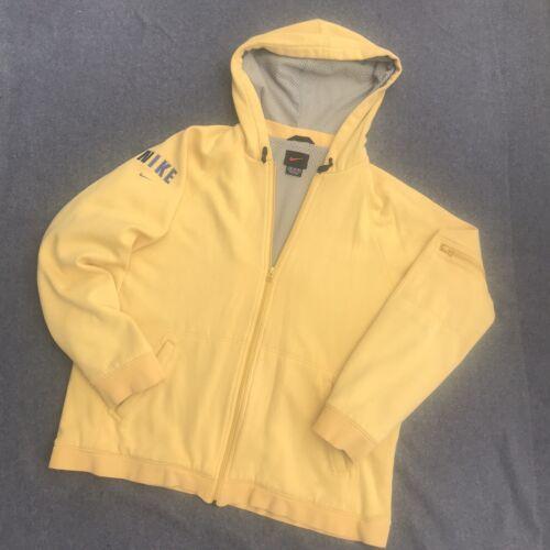 Vintage 90s Black Tag NIKE Zip Hoodie Hooded Lined