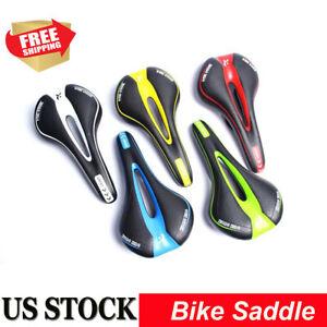Bicycle Bike Cycle MTB Saddle Road Mountain Sports Soft Cushion Gel Pad Seat US
