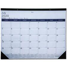 Blueline Duraglobe Ca177227 July 2020 22 X 17 Academicyear Desk Pad Calendar
