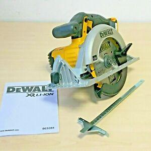 Dewalt DCS391N 18v XR Li-Ion circular saw naked c/w FREE