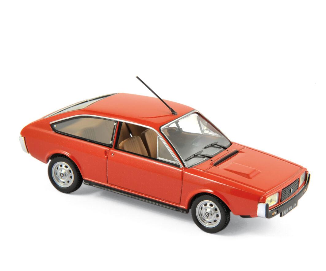 NOREV 511504 - Renault 15 TL 1976 Red  1 43