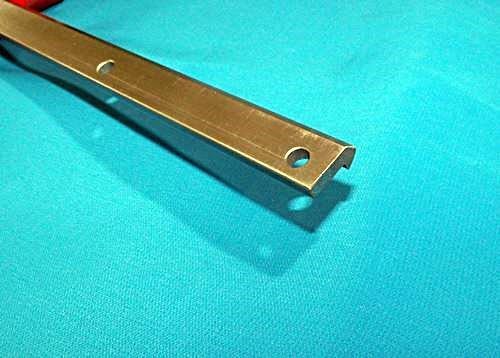 """VRD-2 54 5//8/"""" #2 V-TRACK STEEL DRILLED CNC actuator guide rail V-groove bearing"""