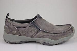 Skechers Men s Larson-BOLTEN 64970 Gray Memory Foam New In Box  85a5f6d3ff8