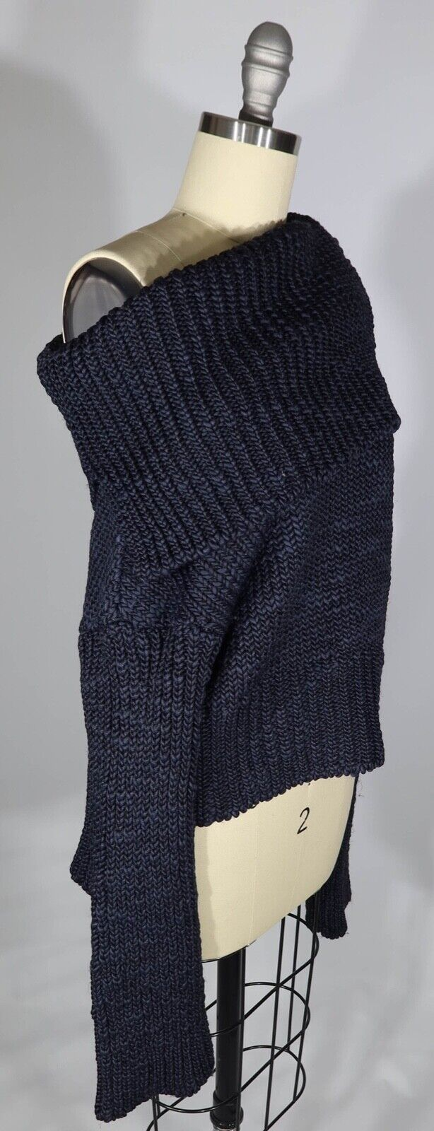 MS MIN 4/S US  Heavy Chunky Knit Off The Shoulder… - image 6