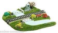 BUSCH 3210 H0, Bahnübergang, gerade, Fertigmodell, Neu