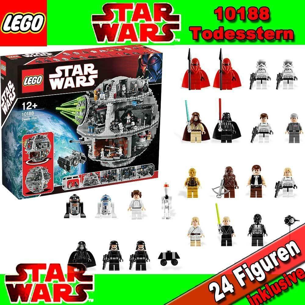 NUOVO LEGO STAR WARS Exclusiv 10188 MORTE NERA DEATH STAR BNISB