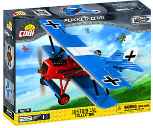 COBI-Small-Army-039-WWI-German-Fokker-D-VII-039-219-Pieces-Item-2978