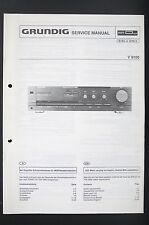 Grundig V 8100 originale stereo amplifier Service-Manual/Schema elettrico Diagram/o95
