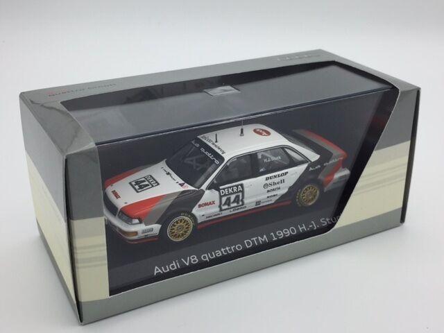 Audi v8 quattro dtm 1990 minichamps audi collection 1 43