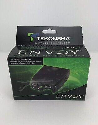 tekonsha envoy 9040 electric trailer brake control for 1 2 axles used with box ebay tekonsha envoy 9040 electric trailer brake control for 1 2 axles used with box ebay