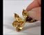 Tiffany-amp-Co-Rare-18K-750-Bow-Yellow-Gold-Brooch-Lapel-Pin-Vintage-Satin-Finish thumbnail 6