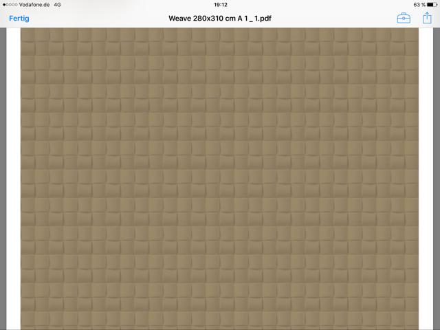 Weave 100% de JAB-Tapis pour individualiste-handwerkswundercreation 100% Weave laine 930624