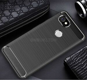 For-Google-Pixel-2-XL-Carbon-Fibre-Gel-Case-Cover-Ultra-Slim-Shockproof-Hybrid