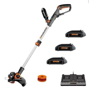 WORX-WG163-20V-12-034-Cordless-Powershare-String-Trimmer-amp-Edger-w-3-Batteries