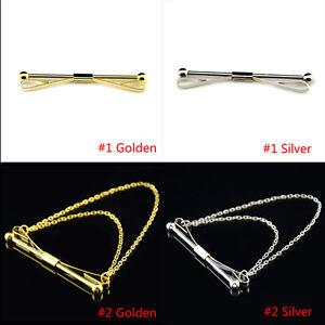 Silver-Gold-Necktie-Tie-Clip-Bar-Clasp-Cravat-Pin-Skinny-Collar-Brooch-Gifts