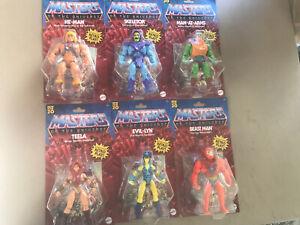 2020 Masters of the Universe HE-MAN /& SKELETOR Origin Retro Play Mattel Set of 6