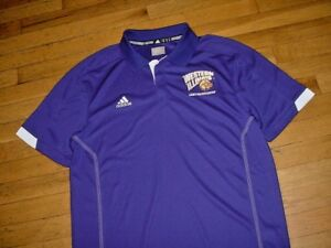 online store 090b0 708bf Details about New Western Illinois Leathernecks Team Issued Polo Shirt By  Adidas Men M Nice!
