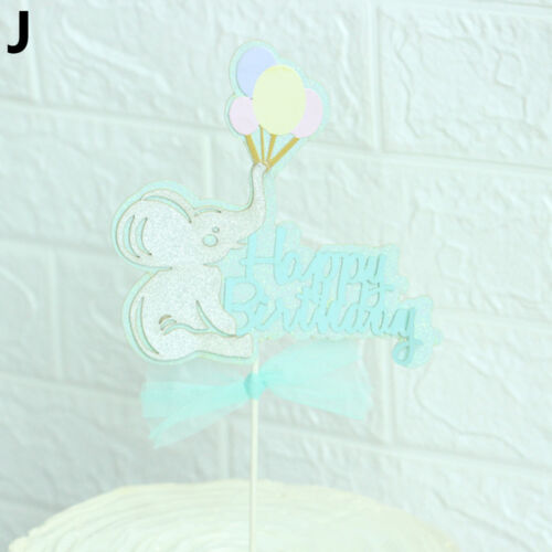 Balloon Air Rainbow Cake Toppers Gâteau Top Drapeaux Gâteau Décor Nouveau FR