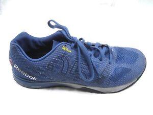 Reebok-Crossfit-blue-cross-training-mens-tennis-sneakers-athletic-shoes-sz-11-5D