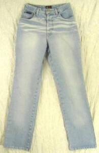 RETRO-Whiskered-LIGHT-Wash-High-Waist-Boot-Cut-100-Cotton-NY-amp-COMPANY-Jeans-4