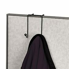 Double Coat Hooks Umbrella Bag Sweaters Holder Cubicle Organizer Wall Partition