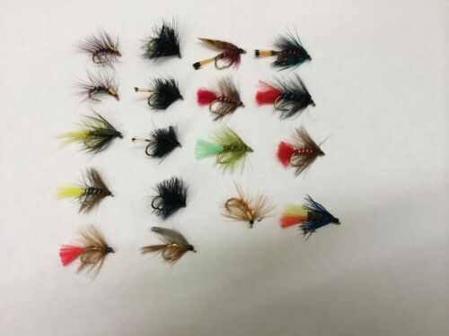 UFS Fly Pack Reservoir Lake Wet Flies #10//#12//#14 Pack of 18 Mixed