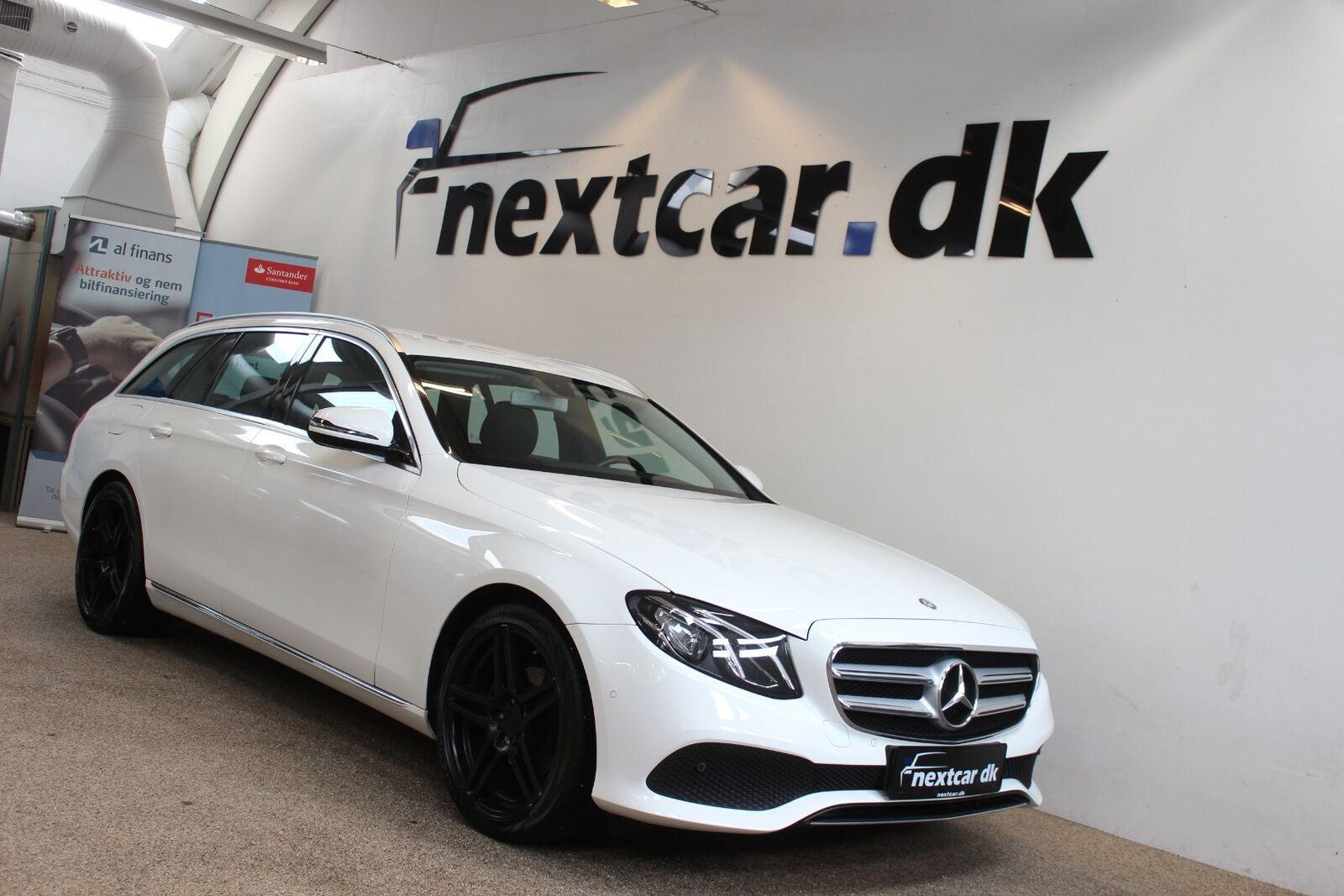 Mercedes E220 d 2,0 Avantgarde stc. aut. 5d - 399.800 kr.