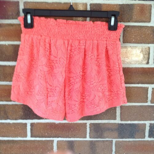 154fd0b078 2 of 4 NWT Small Coral Skort Shorts Skater Skirt Smoked Waistband Full Tilt  Floral