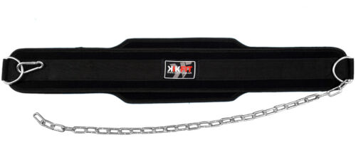 KIKFIT Dipping Belt Body Building Weight Lifting Dip Chain Exercise Gym Training