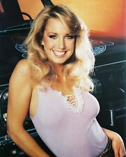 HEATHER THOMAS IN THE FALL GUY BUSTY 8X10 COLOR PHOTO