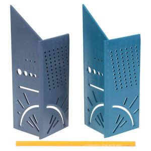 3D-Righello-Calibro-Multifunzione-Angolo-Misurazione-Quadrata-Righello-Con-Penna