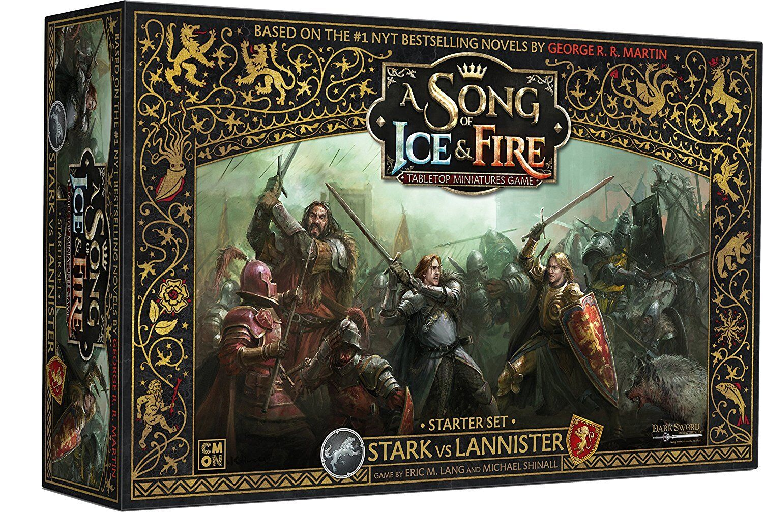 Cmon Stark vs Lannister Starter Set: A Song of Ice and Fire Core Box